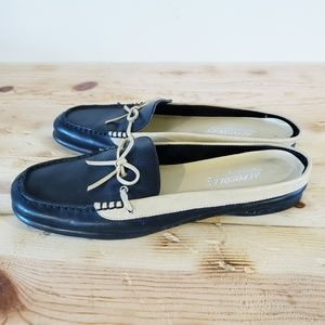 Aerosoles Jamnastic moccasin leather mules NEW sz8
